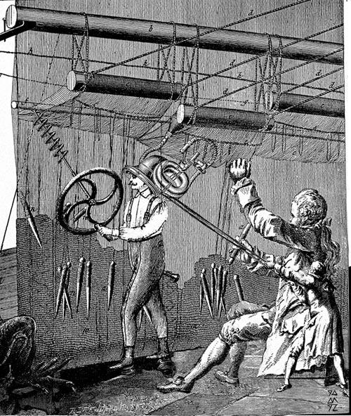 Marionnettes pouet pouet  - collage - Denis Meyer - 1992