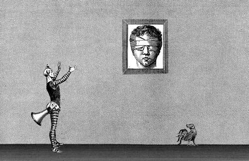 Sans titre pouet pouet - Collage - Denis Meyer